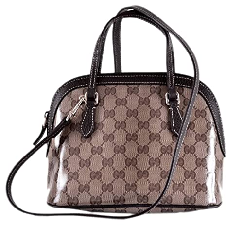 a9798084666 Gucci Women s 341504 GG Guccissima Crystal Canvas Convertible Mini Dome  Purse  Amazon.ca  Shoes   Handbags