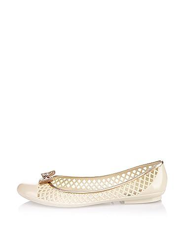 24bd16802178 Lemon Jelly - DARK 02 - Women s Ballet Flats - Pearl - UK  7.5   EUR ...