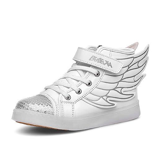 con Bambino Scarpe DoGeek Scarpe Luci Sneakers LED con Luce Luminosi wxgWAT