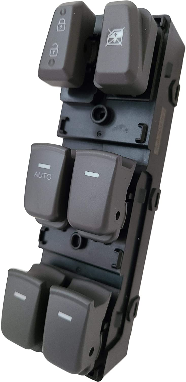 SWITCHDOCTOR Window Master Switch for 2011-2015 Hyundai Sonata Gray