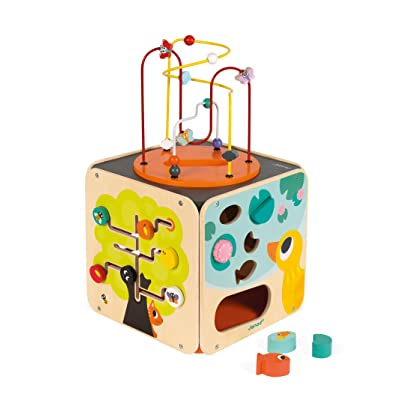 Janod Multi-Activity Looping Toy: Toys & Games