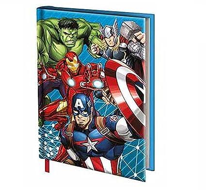Diario Agenda Escolar The Avengers Novita 2017 no fechas ...