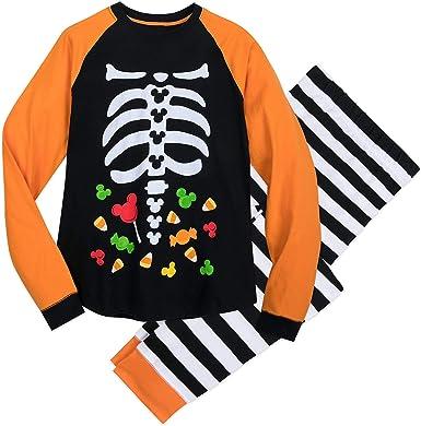 Disney Mickey Mouse - Pijama de Halloween para hombre, multicolor