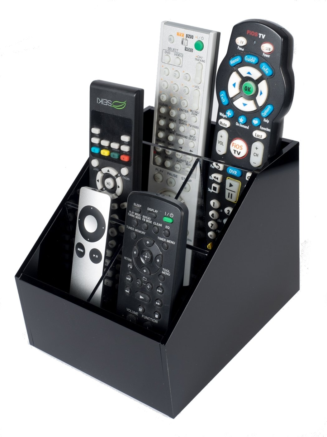 Remote Control Holder For Coffee Table Amazoncom Customized Acrylic Tv Remote Control Holder Organizer