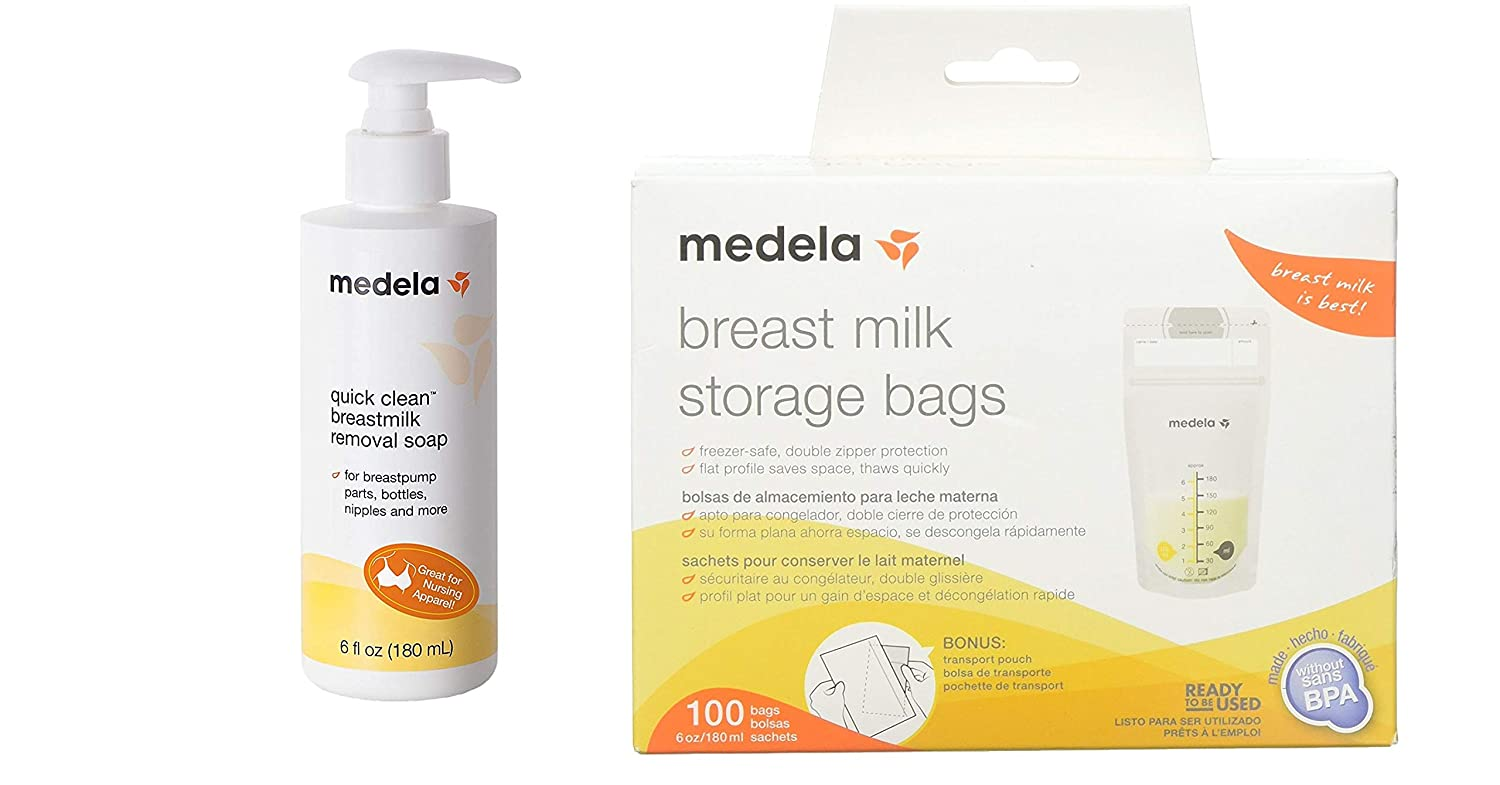 Amazon.com : Medela Quick Clean Breast Milk Removal Soap ...