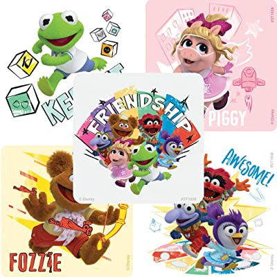SmileMakers Muppet Babies Stickers - Prizes 100 per Pack: Toys & Games