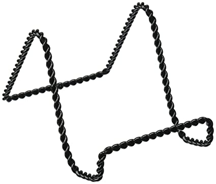 Amazon.com: Darice 5202-65 Twisted Wire Easel Stand, 3-Inch, Black