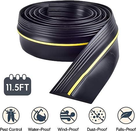 21.4FT Joint de seuil de porte de garage Bande de remplacement facile /à couper /étanche 11.5ft//3.5m 11.5FT