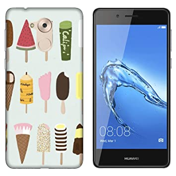 Funda P9 Lite Smart Carcasa Huawei P9 Lite Smart Comida Cibo ...