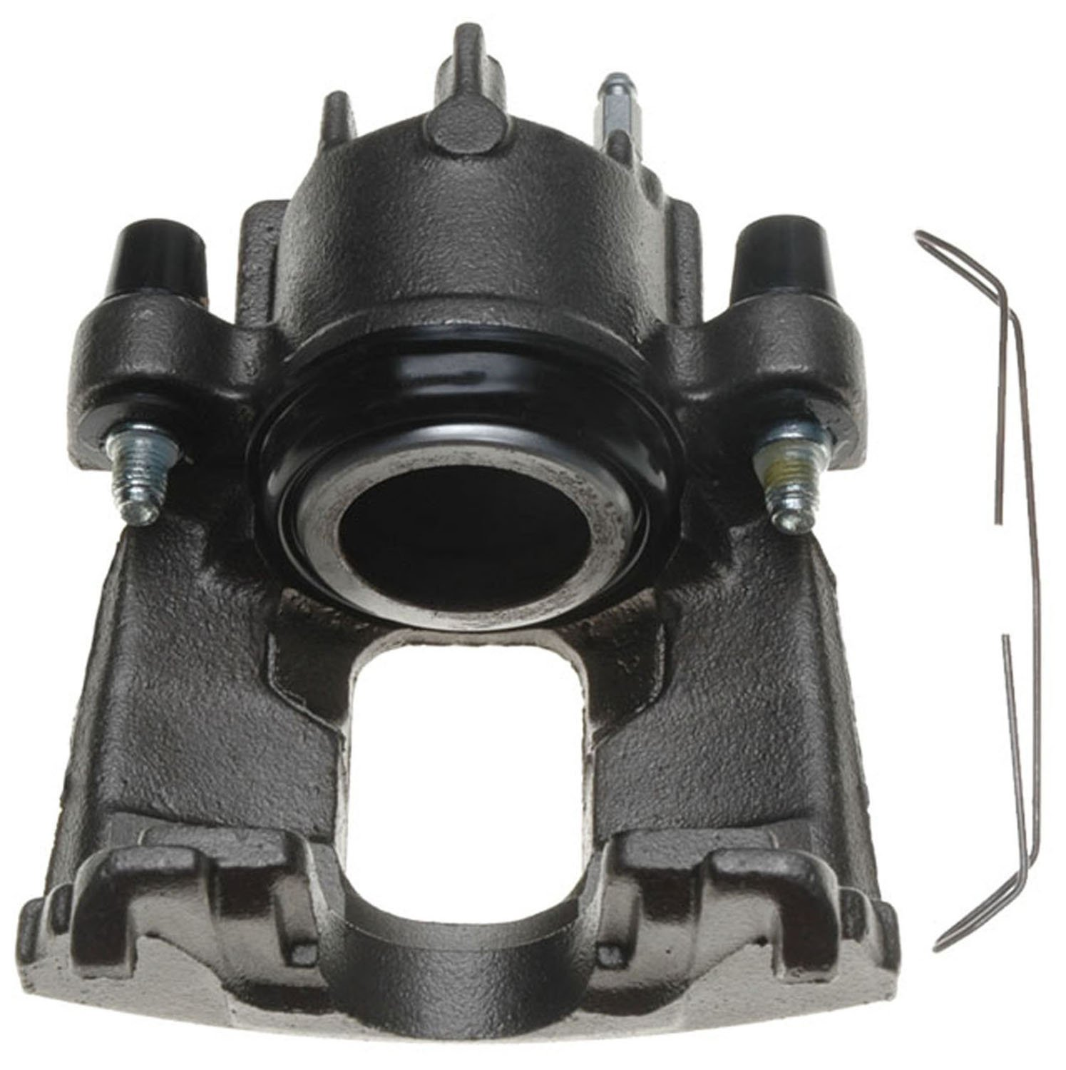 Friction Ready Non-Coated ACDelco 18FR1830 Professional Front Passenger Side Disc Brake Caliper Assembly without Pads Remanufactured