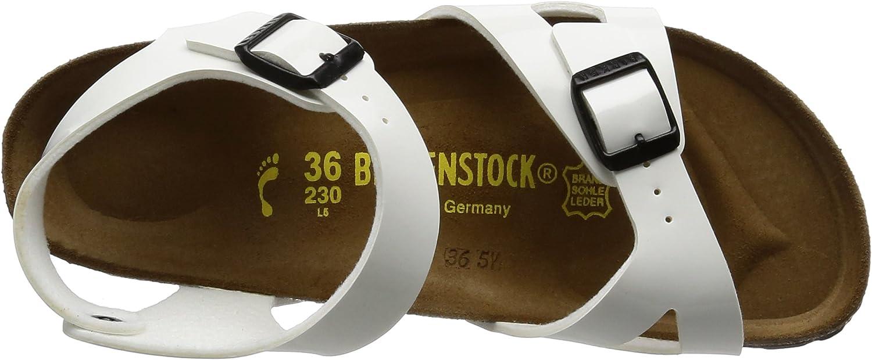 Birkenstock Rio Sandalen voor meisjes WHITE-PATENT-N