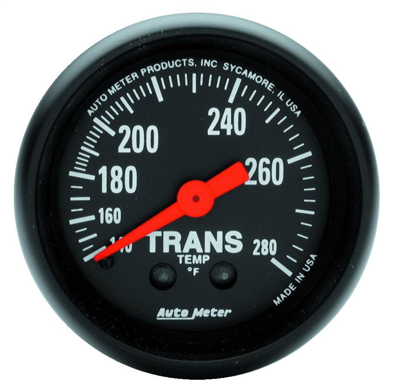Auto Meter 2615 Z-Series 2-1/16' Mechanical Transmission Temperature Gauge