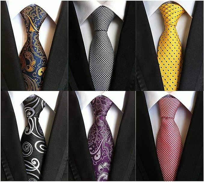 8cm Classic Floral Dark Blue Black 100/% Silk Men/'s Necktie Neck Tie 3.15/'/' Hot