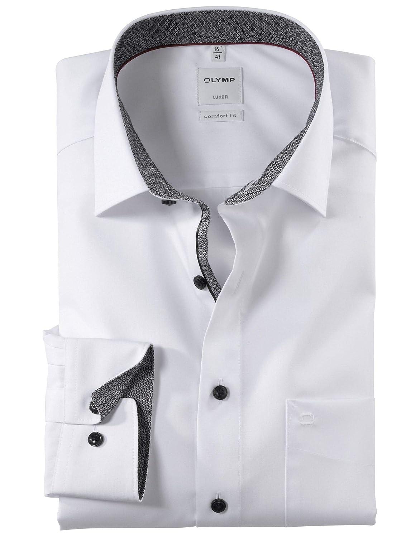 TALLA 42. Olymp - Camisa Formal - Liso - Clásico - para Hombre