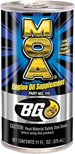 BG MOA Part # 110 Engine Oil Supplement