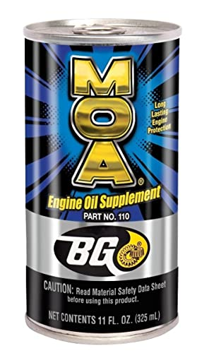 BG MOA Part #110 Engine Oil Supplement
