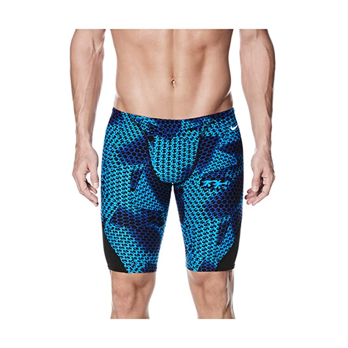 f9a493afc0 Amazon.com: NIKE Men's Nova Spark Performance Swim Jammer: Clothing