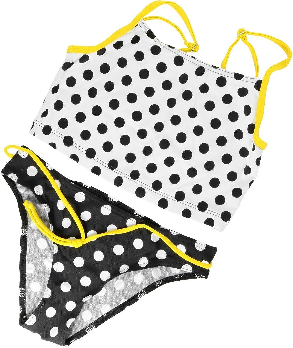 Girls Kids Childrens Bikini Tankini Swimsuit Swimming