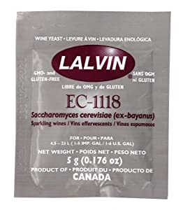Lalvin - EC-1118B EC-1118 Yeast by Lallemand Inc