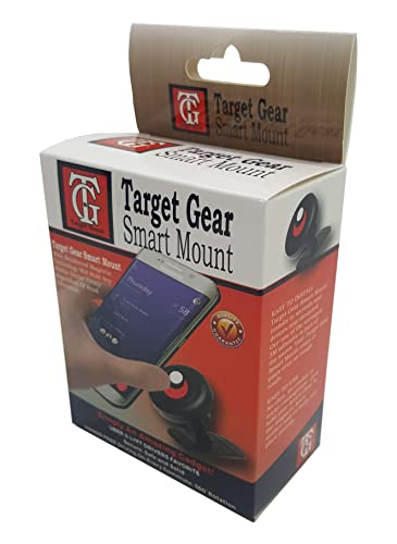 Target Gear Smart Mount - Universal Stick On Dashboard Magnetic Car Mount Holder for Cell Phones Mini Tablets GPS...