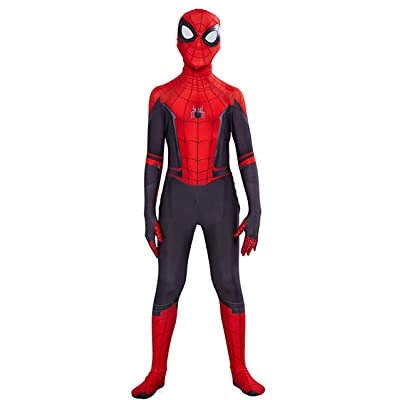 ugoccam Superhero Kids Bodysuit Boys Zentai Suit Cosplay Jumpsuit: Clothing