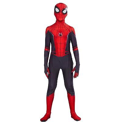 ugoccam Superhero Zentai Bodysuit Kids Jumpsuit Halloween Cosplay Costume: Clothing