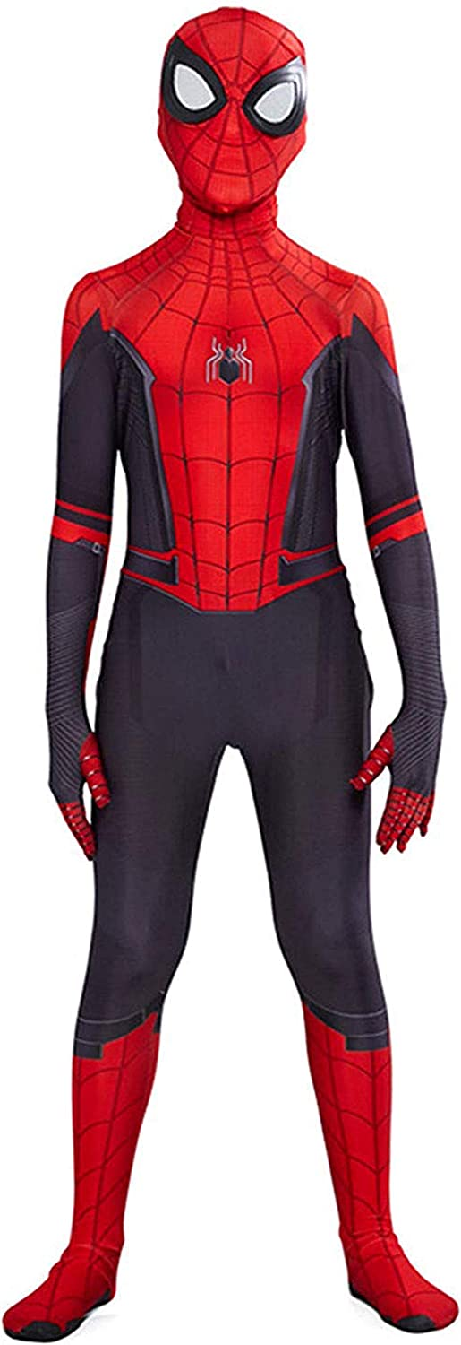 Riekinc Superhero Kids Bodysuit 3D Style Halloween Cosplay Costumes