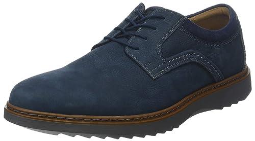 1ad3300a Clarks Un Geo Lace, Zapatos de Cordones Derby para Hombre: Amazon.es:  Zapatos y complementos