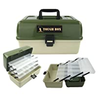 Roddarch© 3 Tray Cantilever Fishing Tackle Tough Box