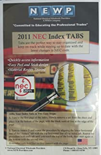 National Electrical Code 2011 Tabs: (NFPA) National Fire Protection ...