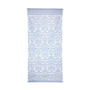 Linnea 50 x 100 cm Toalla de baño Bolero Floral Azul 520 G/m2: Amazon.es: Hogar