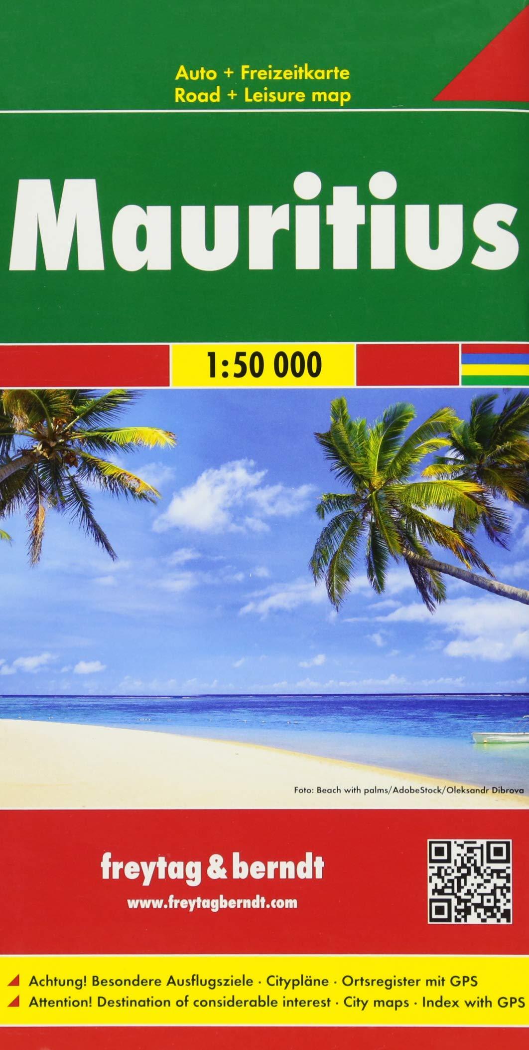 Mauritius, Autokarte 1:50.000 (freytag & berndt Auto + Freizeitkarten)