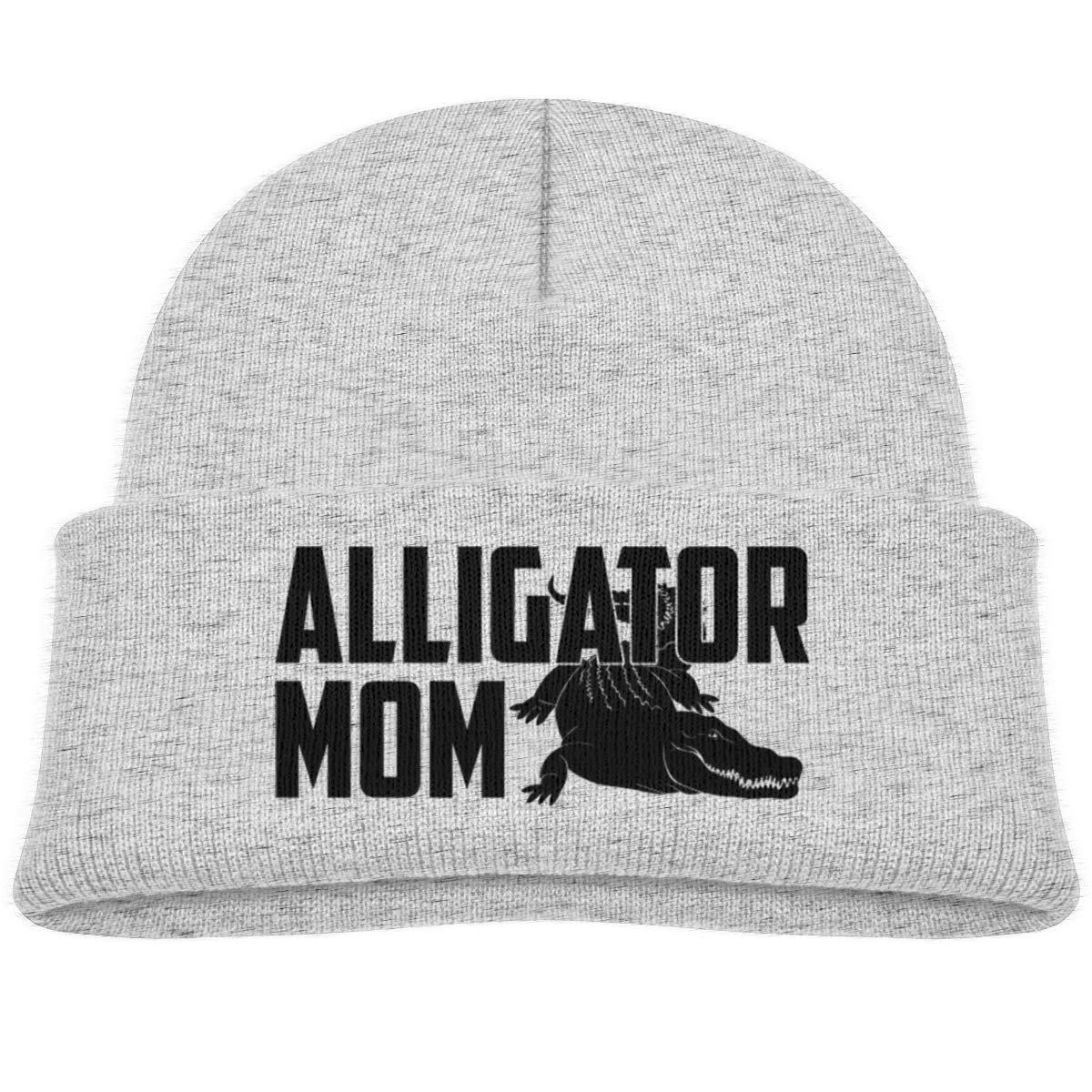 Alligator Mom Beanie Cap Baby Girls