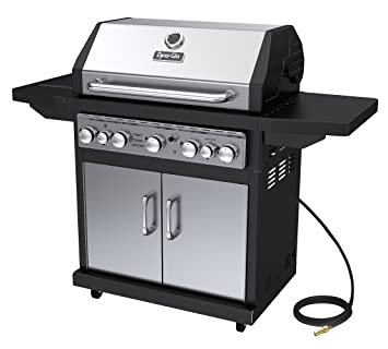 Dyna Glo Black U0026 Stainless Premium Grills, 5 Burner, Natural Gas
