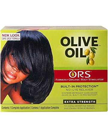 Relajante para cabellos Organic Root Stimulator, crema de alisado, con aceite de oliva,