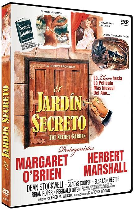El jardín secreto [DVD]: Amazon.es: Margaret OBrien, Herbert Marshall, Dean Stockwell, Gladys Cooper, Elsa Lanchester, Brian Roper, Fred M Wilcox, Margaret OBrien, Herbert Marshall: Cine y Series TV