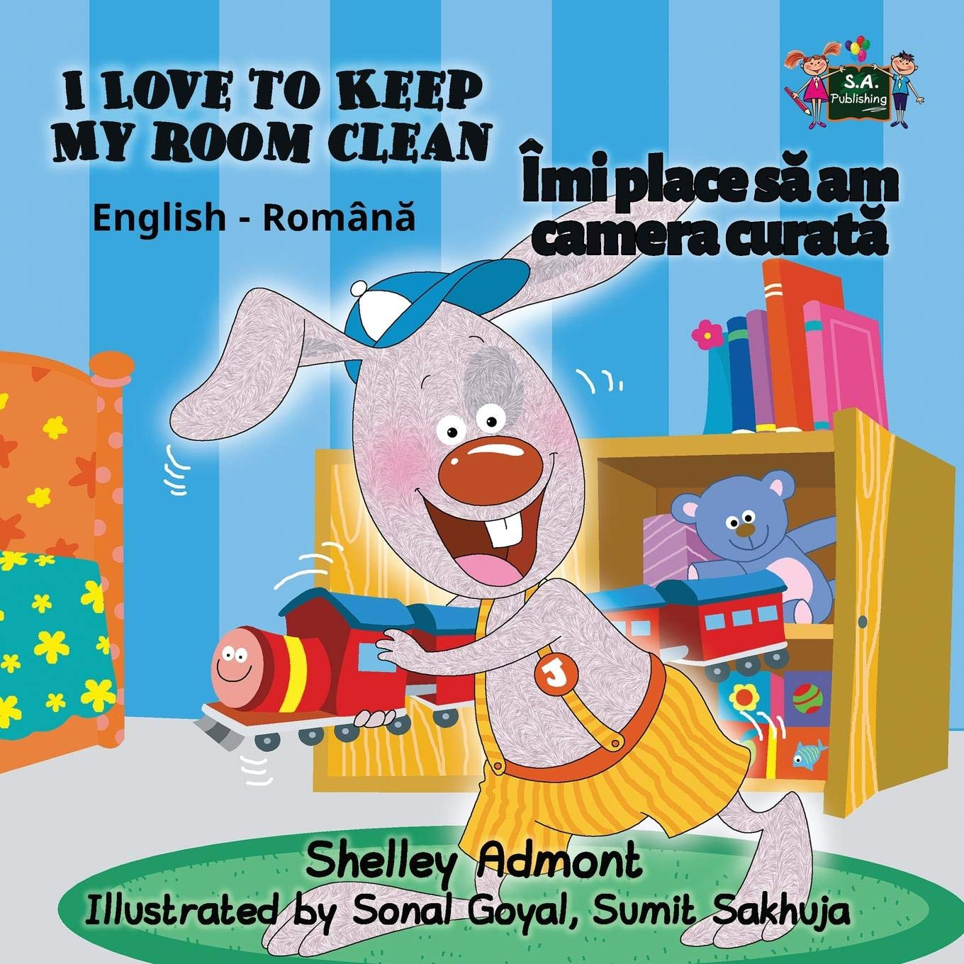 Read Online I Love to Keep My Room Clean (English Romanian Bilingual Collection) pdf epub