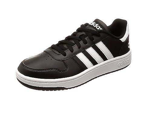 Adidas Hoops 2.0, Zapatillas de Deporte para Hombre, Negro (Negbas Ftwbla 000)