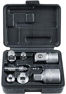 Wolfcraft 8798000/3er-Set SDS-Adapter f/ür Steckschl/üsseleinsatz 1,27/cm 0,64/cm 1//4/Zoll 1//2/Zoll 3//8/Zoll 0,95/cm