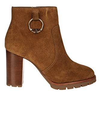 0655a8c5c6ccb6 Tory Burch Chunky 3 quot  Block Heel Suede Sofia Booties