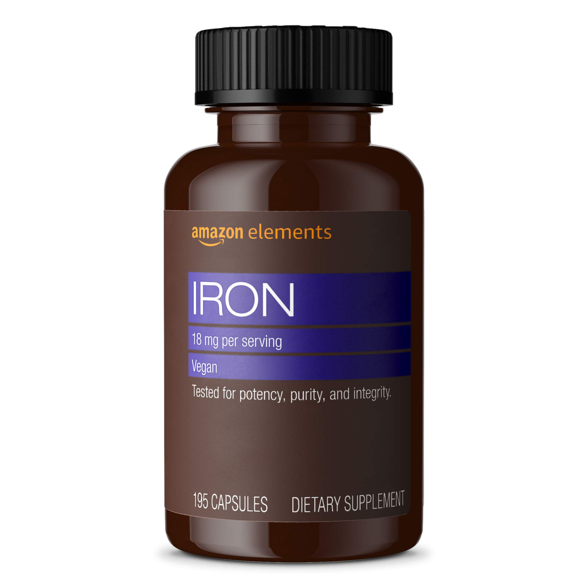 Amazon Elements Iron 18mg