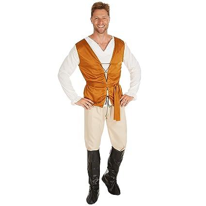dressforfun Costume da Uomo - Contadino Medievale  8db4821b2e3