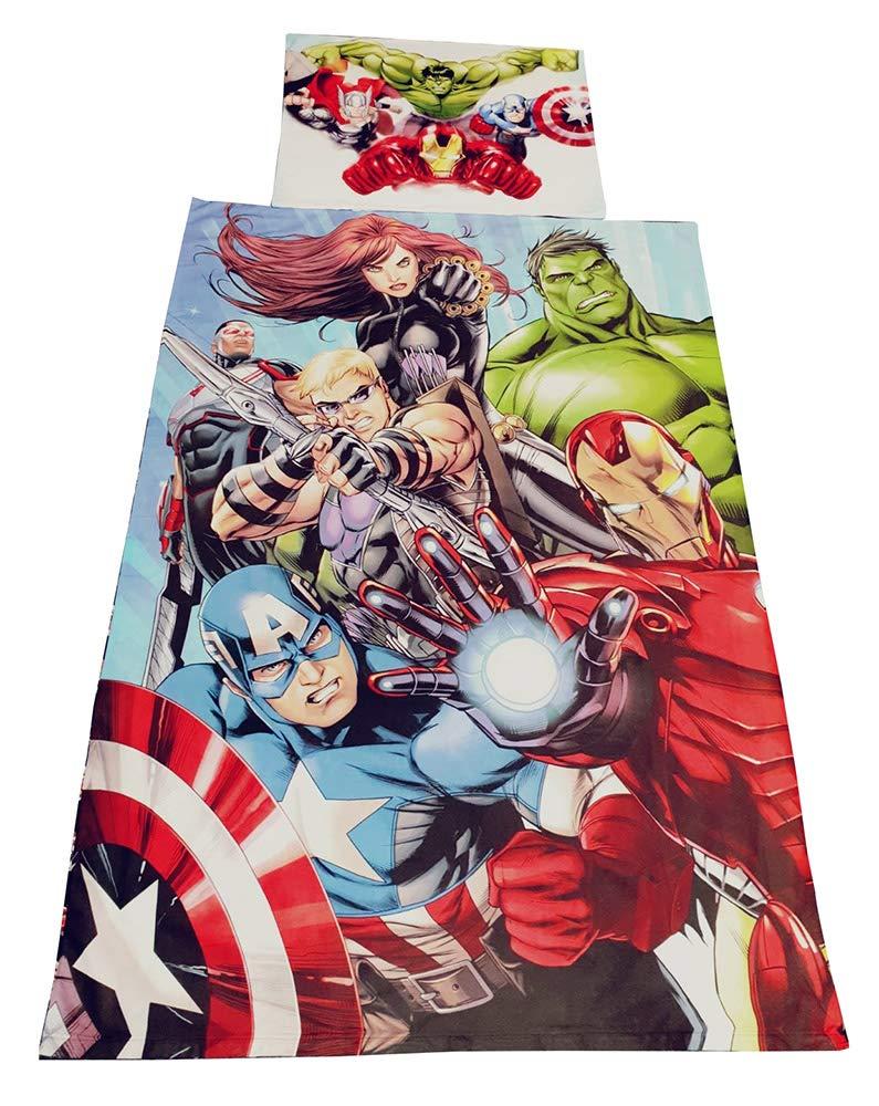 Avenger y My Little Pony Marvel Avengers Ropa de Cama para ni/ños y ni/ñas Spider-Man Ropa de Cama con Motivos de Masha y el Oso Unbekannt Textiles para el hogar para ni/ños