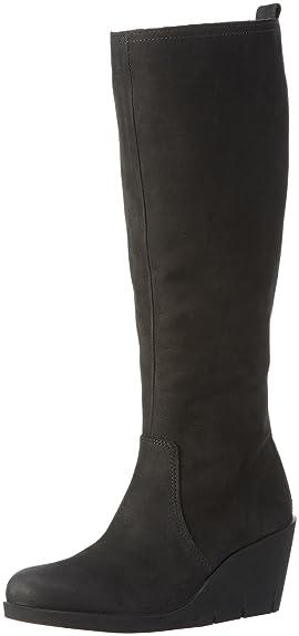 Ecco Women's Bella Wedge Long Boots: Amazon.co.uk: Shoes & Bags
