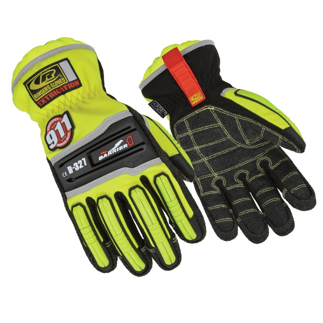 Ringers Gloves R-327 Extrication Barrier1, Heavy Duty Extrication Gloves, X-Large by Ringers Gloves (Image #1)
