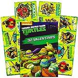 Tattoos Teenage Mutant Ninja Turtles Kids Classroom Valentine Exchange Cards Paper Magic 34CT Deluxe