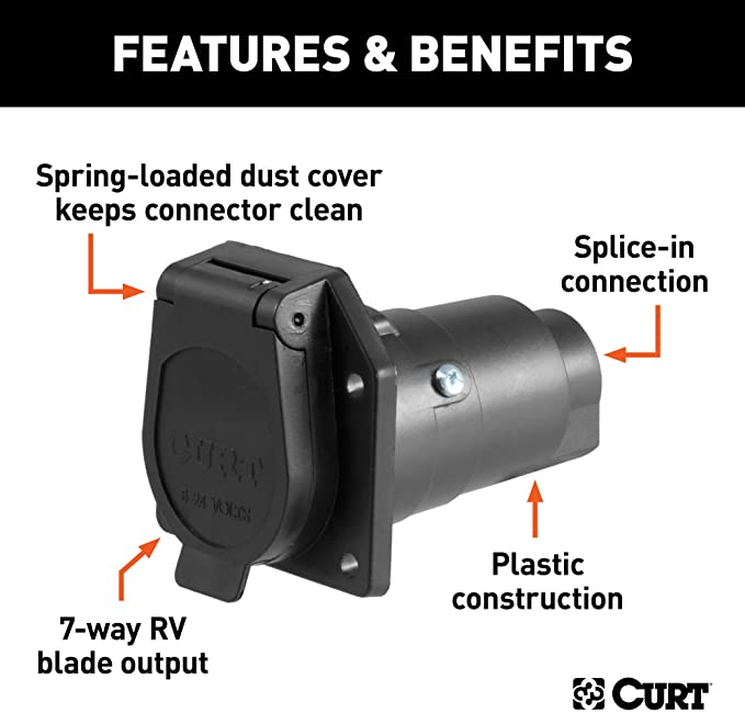 Curt Manufacturing 58140 Trailer Connector