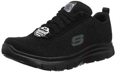 Bendon SR Shoes Trainers Mens 77125EC Skechers Work Relaxed Fit Flex Advantage