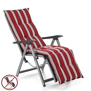 Auflagen Mit Kopfpolster Für Relax Liegestuhl Ibiza 40240 215