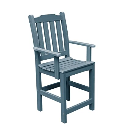 Superieur Highwood Lehigh Counter Height Armchair, Nantucket Blue